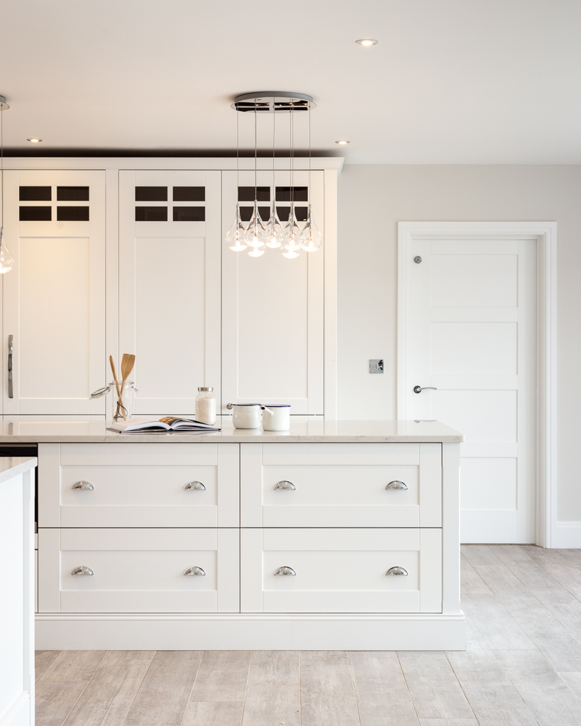 Nest Kitchens - White Shaker Kitchen